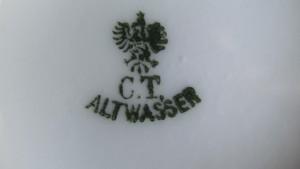 Moccakanne C.T. Altwasser um 1900