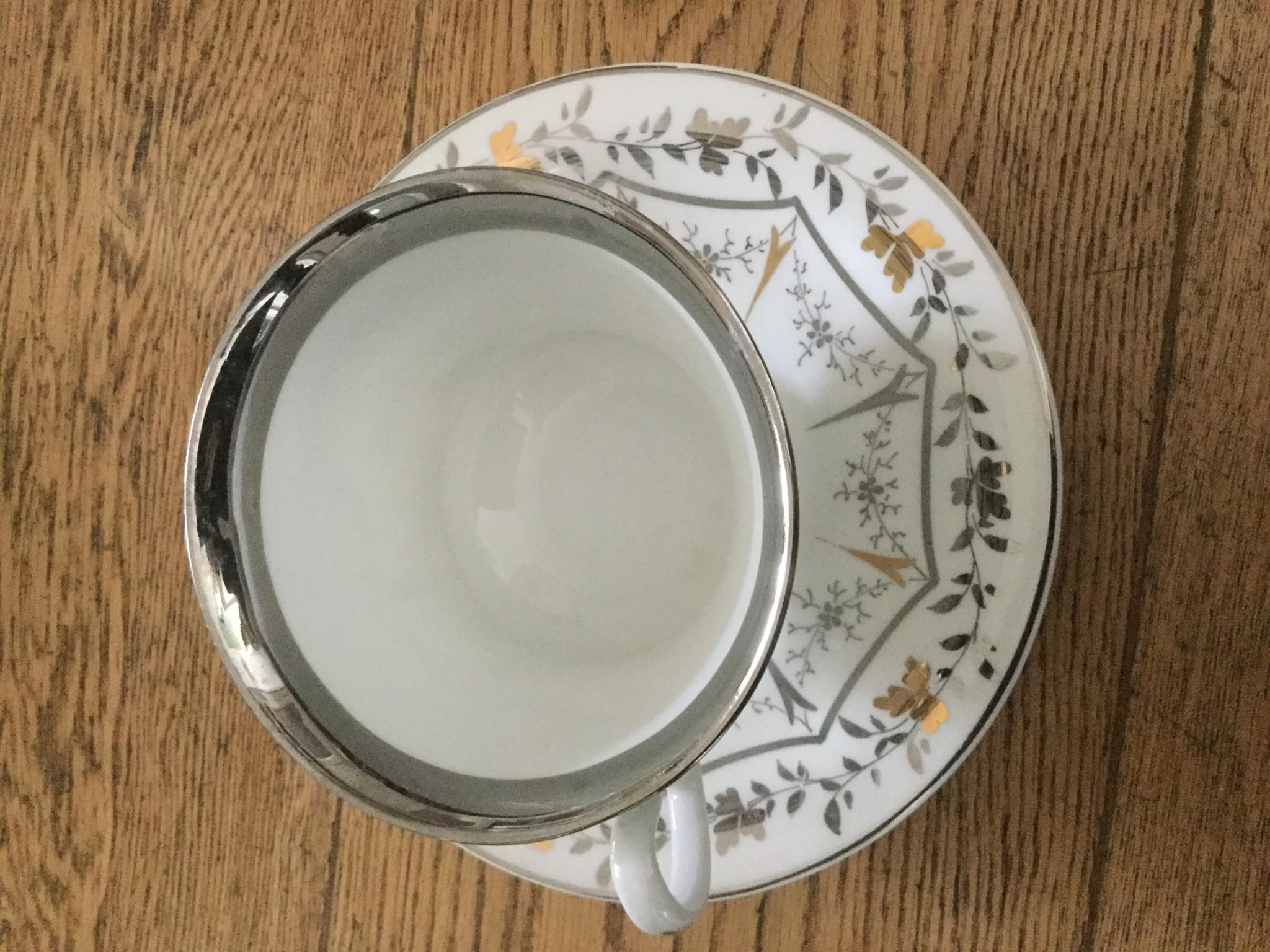 Silberhochzeit-Tasse