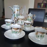 Carl Tielsch Altwasser Teeservice Gedeck